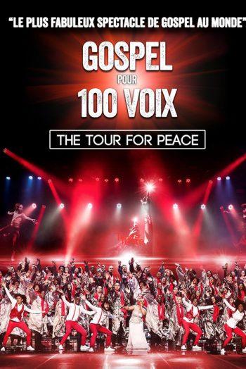 Gospel pour 100 voix the tour for peace le capitole en champagne spectacle salle